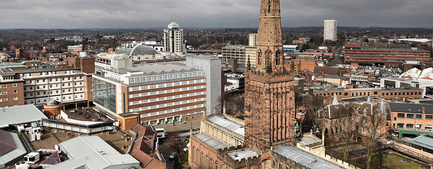 The Spires of Coventry