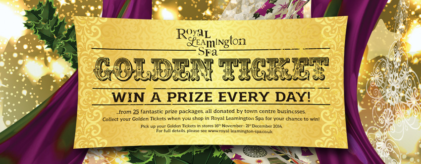 Golden Ticket - Grand Prize Draw Today