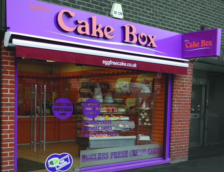 The cake box royal leamington spa for A and s salon supplies keighley