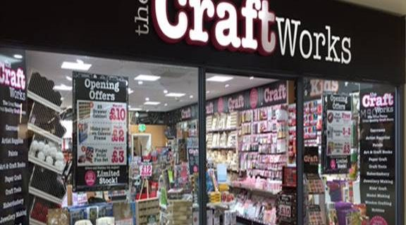 db0b75fc08b0b Visit our new Craft Works store on the Lower Mall of The Royal Priors and  you ll find a treasure trove of all the Art and Craft essentials you could  ever ...