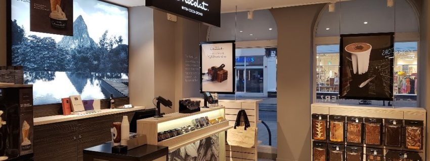 54afe028c68be Hotel Chocolat is a British chocolatier and a unique type of chocolate  company that connects luxury chocolate making and retailing with cocoa  growing – it ...